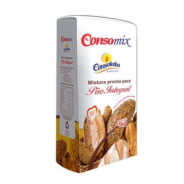 Consomix Mistura pronta para pão integral 5kg