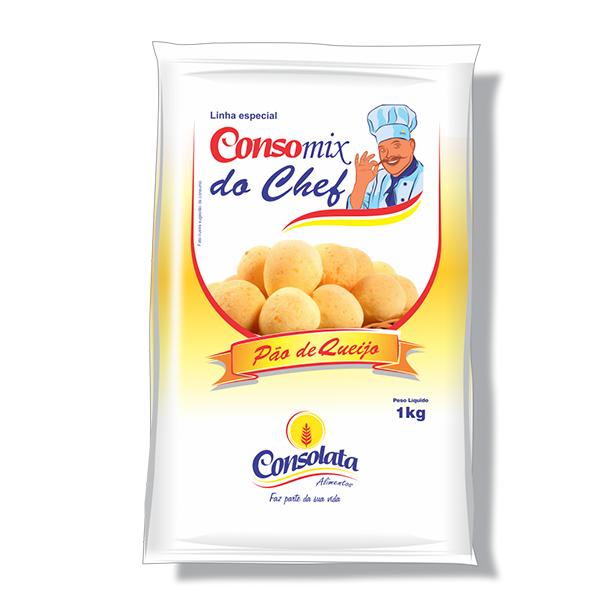 Consomix do chef pão de queijo 1kg